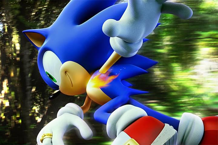 """Adveture-era Sonic"""", suppose to be used for Sonic Generations."""