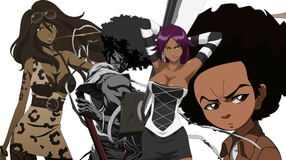 Black anime characters