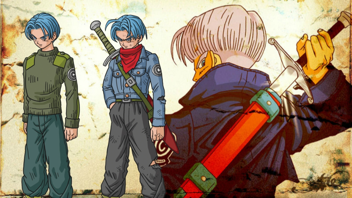 Why Does Future Trunks Have Blue Hair?