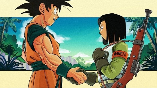 goku-vs-android-17-in-dragon-ball-super